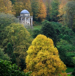 Stourhead in the autumn